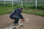 Измерение температуры почвы