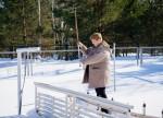 Метеостанция Воткинск, измерения температуры на глубине почвы по вытяжным термометрам